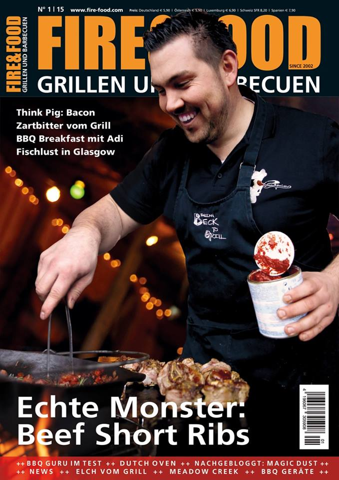 Fire & Food - Magazin